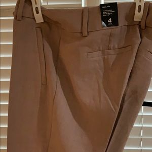 Blush colored slacks new with tags